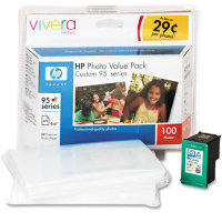 Hewlett Packard HP Q7932AN ( HP 95 Photo Value Pack ) InkJet Cartridge Value Pack