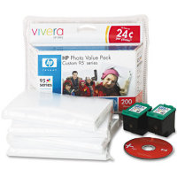 Hewlett Packard HP Q7938AN ( HP 95 Photo Value Pack ) InkJet Cartridge Value Pack