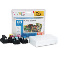 Hewlett Packard HP Q7964AN ( HP 02 Photo Value Pack ) InkJet Cartridge Value Pack