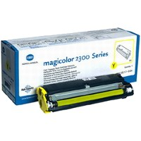 Konica Minolta 1710517-002 Yellow Standart Capacity Laser Toner Cartridge