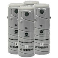 Konica Minolta 8935-502 Black Laser Toner Bottles