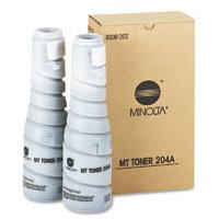 Konica Minolta 8936-202 Black Laser Toner Bottles