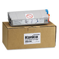 Konica Minolta 950-184 ( 950184 ) Cyan Laser Toner Cartridge