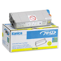 Konica Minolta 950-186 ( 950186 ) Yellow Laser Toner Cartridge