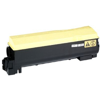 Compatible Kyocera Mita TK-542Y ( 1T02HLAUS0 ) Yellow Laser Toner Cartridge (Made in North America; TAA Compliant)