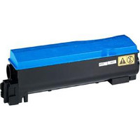 Compatible Kyocera Mita TK552C ( TK-552C ) Cyan Laser Toner Cartridge (Made in North America; TAA Compliant)