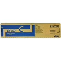 Kyocera Mita TK-897C ( Kyocera Mita 1T02K0CUS0 ) Laser Toner Cartridge