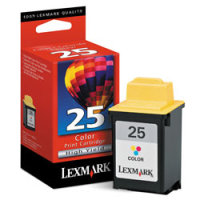 Lexmark 15M0125 ( Lexmark #25 ) High-Resolution Color InkJet Cartridge