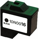 Lexmark 10N0016 ( Lexmark #16 ) Remanufactured InkJet Cartridge