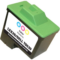 Lexmark 10N0026 ( Lexmark #26 ) Tri-Color Professionally Remanufactured Inkjet Cartridge