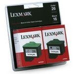 Lexmark 10N0202 ( Lexmark Twin-Pack #16, #26 ) InkJet Cartridges