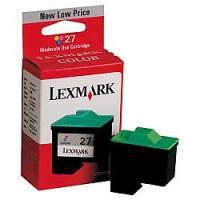 Lexmark 10N0227 ( Lexmark #27 ) Moderate Yield Color Inkjet Cartridge
