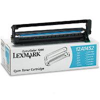 Lexmark 12A1452 Cyan Laser Toner Cartridge