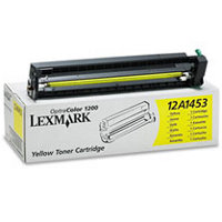 Lexmark 12A1453 Yellow Laser Toner Cartridge