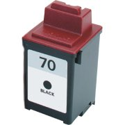 Lexmark 12A1970 ( Lexmark #70 ) Professionally Remanufactured Black InkJet Cartridge