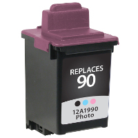Lexmark 12A1990 / Lexmark #90 Replacement InkJet Cartridge