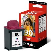 Lexmark 12A1990 ( Lexmark #90 ) Photo InkJet Cartridge