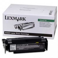 Lexmark 12A4715 High Capacity Black Laser Toner Cartridge