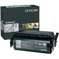 Lexmark 12A5849 Black Laser Toner Cartridge - Prebate