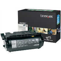 Lexmark 12A7465 Black Extra High Yield Return Program Laser Toner Cartridge