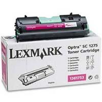 Lexmark 1361753 Magenta Laser Toner Cartridge
