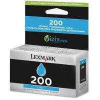 Lexmark 14L0086 ( Lexmark # 200 Cyan ) InkJet Cartridge