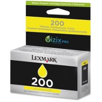 Lexmark 14L0088 ( Lexmark # 200 Yellow ) InkJet Cartridge