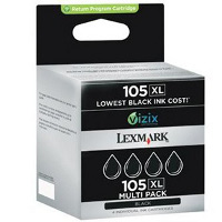 Lexmark 14N0843 ( Lexmark #105XL ) InkJet Cartridge Multi Pack