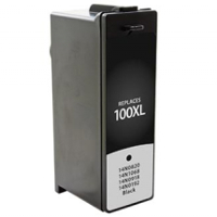 Lexmark 14N1053 / Lexmark 100XL Black Replacement InkJet Cartridge