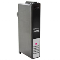 Lexmark 14N1055 / Lexmark 100XL Magenta Replacement InkJet Cartridge