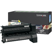 Lexmark 15G042Y High Capacity Yellow Laser Toner Cartridge