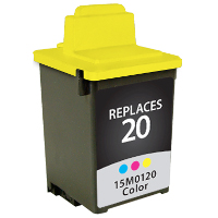 Lexmark 15M0120 / Lexmark #20 Replacement InkJet Cartridge