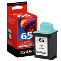 Lexmark 16G0065 ( Lexmark #65 ) Color High-Yield, High Resolution Inkjet Cartridge