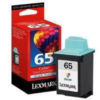 Lexmark 16G0065 ( Lexmark #65 ) Color High-Yield, High Resolution Inkjet Cartridge