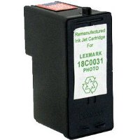 Lexmark 18C0031 ( Lexmark #31 ) Remanufactured InkJet Cartridge
