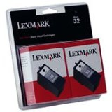 Lexmark 18C0533 ( Lexmark Twin-Pack #32 ) Inkjet Cartridges