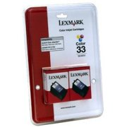 Lexmark 18C0534 ( Lexmark Twin-Pack #33 ) InkJet Cartridges