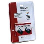 Lexmark 18C0534 ( Lexmark Twin-Pack #33 ) InkJet Cartridges