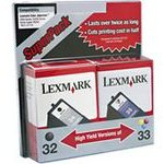 Lexmark 18C0535 InkJet Cartridge Pack