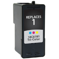 Lexmark 18C0781 / Lexmark #1 Replacement InkJet Cartridge