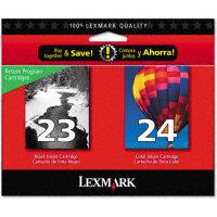 Lexmark 18C1571 InkJet Cartridge MultiPack (#23 / #24)