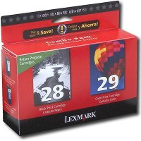 Lexmark 18C1590 ( Lexmark Twin-Pack #28, #29 ) InkJet Cartridges