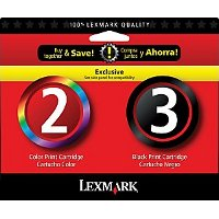 Lexmark 18C1737 ( Lexmark Twin-Pack #2, #3 ) InkJet Cartridges