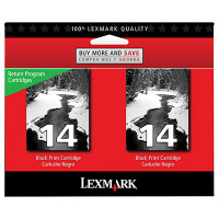 Lexmark 18C2228 ( Lexmark Twin-Pack #14 ) InkJet Cartridges