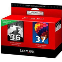 Lexmark 18C2229 ( Lexmark Twin-Pack #36, #37 ) InkJet Cartridges