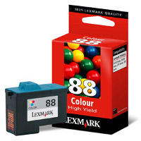 Lexmark 18L0000 ( Lexmark #88 ) Color Inkjet Cartridge - High Capacity