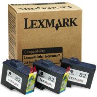 Lexmark 18L0232 ( Lexmark Tri-Pack #82 ) Black Standart Capacity Inkjet Cartridges