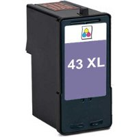 Lexmark 18Y0143 ( Lexmark #43XL ) Remanufactured InkJet Cartridge