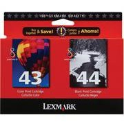 Lexmark 18Y0372 ( Lexmark Twin-Pack #44XL, #43XL )