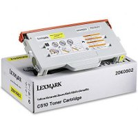 Lexmark 20K0502 Yellow Laser Toner Cartridge